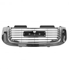 02-09 Gmc Envoy Grill Chrome Grille