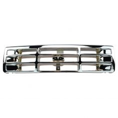 92-96 Ford Pu/ Bronco All-Chrome Grille