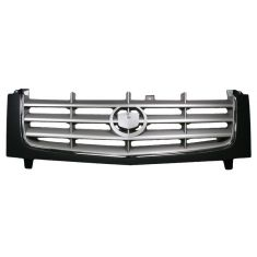 2002-06 Cadillac Escalade, EXT; 03-06 ESV Chrome and Black Grille