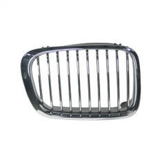 99-01 BMW 3 Series Sdn & SW Hood Mounted Chrome Grille RH