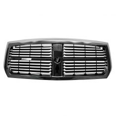 05-07 Dodge Dakota Grille Chrome & Black