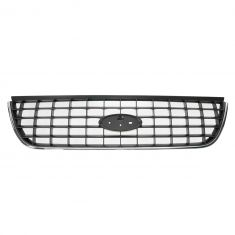 02-05 Ford Explorer Upper Grille Chrome w/ Platinum Bars