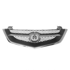 02-03 Acura TL Grille Chrome & Black