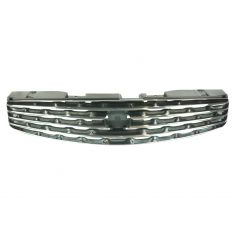 03-07 Infiniti G35 Coupe Upper Grille Chrome & Black