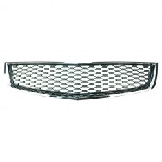 10-13 Chevy Equinox LS, LT Lower Center, LTZ Lower Flat Black w/Chrome Trim Grille