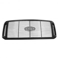 05-07 Ford F250SD, F350SD (w/Harley Davidson Pkg), F450SD; 05 Excursion Black & Chrome Billet Grille