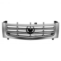 02-06 Cadillac Escalade, Escalade EXT; 03-06 Escalade ESV ALL CHROME Grille