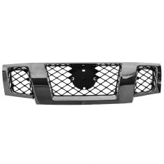 09-15 Nissan Frontier Chrome and Black Grille w/Emblem Provision