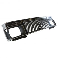 91-94 GMC Jimmy; S-15 Sonoma Black & Chrome Grille