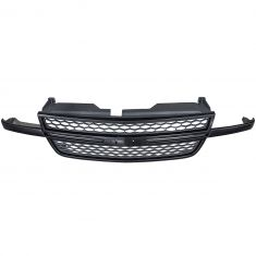 06-07 Chevy Silverado 1500 SS Front Upper Black Honeycomb Grille