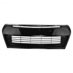 14-16 Toyota Corolla Front Black w/ Chrome Moulding Grille