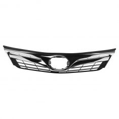 12-14 Toyota Camry LE, XLE Front Upper Chrome and Dark Gray Grille
