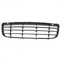 05-10 VW Jetta Front Lower Center Black and Chrome Grille