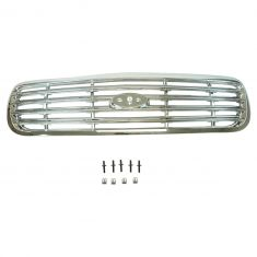 98-11 Ford Crown Victoria Chrome Grille w/ Horizontal Bars