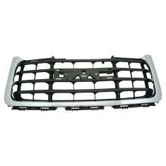 07 GMC Sierra 2500, 3500 New Body; 08-10 2500, 3500 Black/ Dk Gray w/Chrome Frame Grille