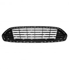 13-16 Ford Fusion Front Bumper Mounted Upper Radiator Grille (w/o Moldings) (Ford)