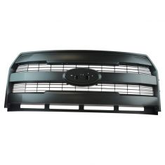 15-16 Ford F150 Lariat Black 3 Bar Center Grille Insert (w/o Emblem) (Ford)