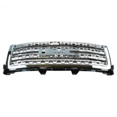 11-14 GMC Sierra Denali 2500, 3500 Chrome Honeycomb Upper Grille (w/o Emblem) (GM)
