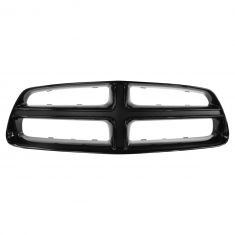 11-14 Dodge Charger Dealer Installed Smoked Chrome Upper Grille Surround (Mopar)