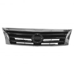 13-15 Nissan Altima Sedan Chrome & Black Grille (w/o Emblem) (Nissan)