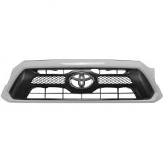 12-15 Toyota Tacoma Sport (Painted Super White Code: 040) Grille w/Toyota Emblem (Toyota)