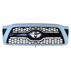 10-11 Tacoma Sport ~Toyota~ Logoed (Super White Code: 040) Surround w/Blk Honeycomb Grille (Toyota)