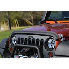 Bug Deflector, Matte Black, 07-14 Jeep Wrangler