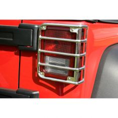Tail Light Euro Guards, 07-14 Jeep Wrangler (JK)