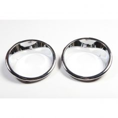Headlight Bezels, Chrome, 07-14 Jeep Wrangler (JK)