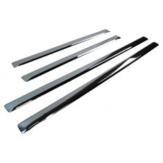 09-15 Dodge Ram 1500; 10-15 2500, 3500 Quad Cab Chrome Door Adhesive Molding (Set of 4) (Mopar)