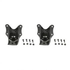 1986-96 Ford F150 2WD; 1992-07 E150 Van Rear Leaf Spring Shackle Bracket Kit PAIR