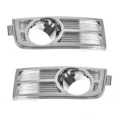 2007-10 Lincoln MKX Fog Light Bezel PAIR