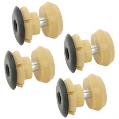 93-97 Chrysler Dodge Eagle FWD Front Subframe Upper & Lower Bushings (Set of 4)
