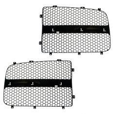 02-05 Dodge Ram 1500; 03-05 2500; 3500 Grille Insert Black Pair