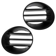 02-04 Jeep Liberty Fog Light Cover Insert Pair