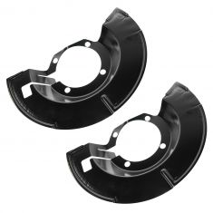 95-01 Ford Explorer, Mercury Mountaineer; 02 Explorer Sport Rear Disc Brake Shield PAIR