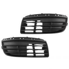 05-10 VW Jetta (8th VIN digit K) Front Fog Light Cover Grille PAIR