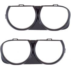 15-18 Dodge Challenger (exc SRT Hellcat) Headlight Bezel PAIR