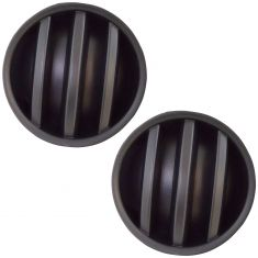 06-10 Dodge Charger; 07-10 Jeep Patriot; 08-14 Challanger Frt Bumper Mounted Fog Light Cover PAIR