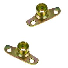 99-07 F250SD, F350SD; 97-99 F250LD; 97-04 F150 Tail Gate Hinge Roller Pair (FORD)
