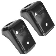 90-91 Bronco; 90-91 F150; 90-97 F250, F350, FSD Front Frame to Body Steel Bracket PAIR (Ford)