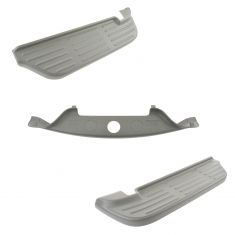 99-07 Ford F250SD-F450SD Rear Bumper Mounted Arizona Beige Upper Step Pad Kit (Set of 3) (Ford)
