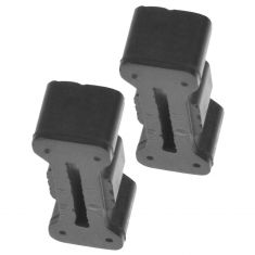 94-04 Chevy S10, GMC S15 Sonoma Tailgate Latch Rubber Bumper Pair (GM)