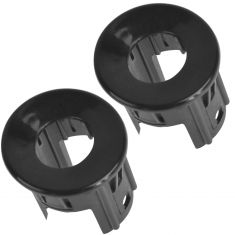 07-14 Silverado, Sierra Rear Bumper Mtd Inner or Outer Parking Sensor Housing PTM Bezel Set of 2(GM)