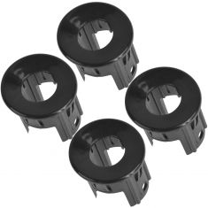 07-14 Silverado, Sierra Rear Bumper Mtd Inner or Outer Parking Sensor Housing PTM Bezel Set of 4(GM)