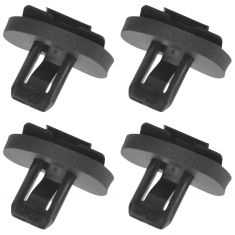 82-92 Chevy Camaro, Pontiac Trans Am, Firebird A-Pillar Retainer Clips Set of 4 (GM)