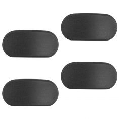 07-13 Silvrdo, Sierra 1500; 07-14 2500, 3500 Oval Running Board End Cap Set of 4 (GM)
