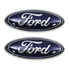 04-08 Ford F150 Blue Oval Grille & Tailgate Emblem PAIR (Ford)