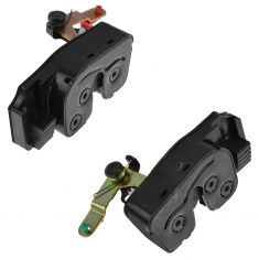 98-01 Dodge Ram 1500, 98-02 2500, 3500 Quad Cab Rear Door Mounted Lower Door Latch Pair (Mopar)