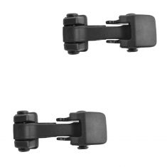 07-15 Jeep Wrangler Hood Catch Hold Down Latch Pair (Mopar)